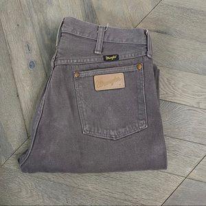 Vintage Wrangler Lavender Grey High Waist Jeans